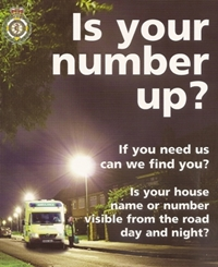 Is your number up poster